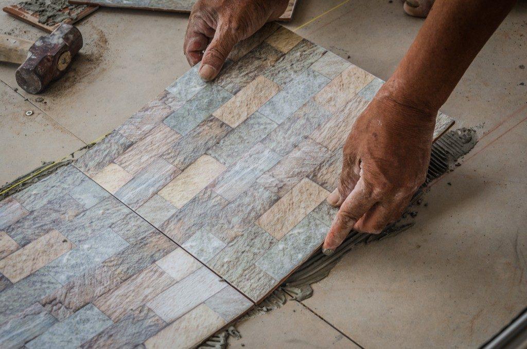 adding tiles