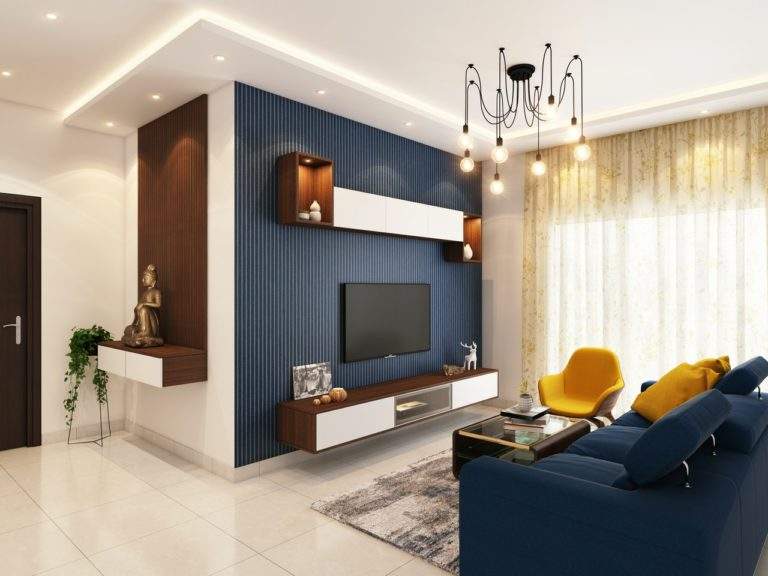 modern home living room