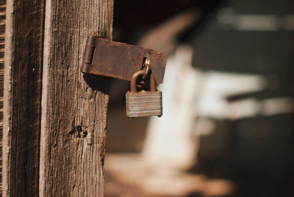 flimsy lock