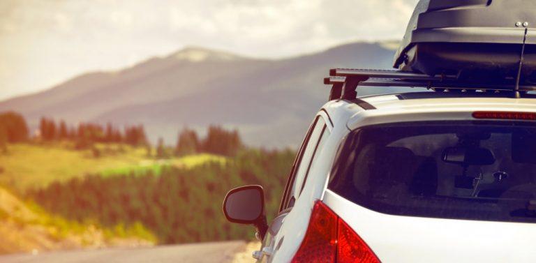 car on a roadtrip