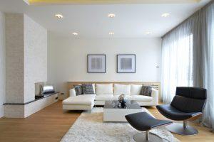 well lit indoor of house
